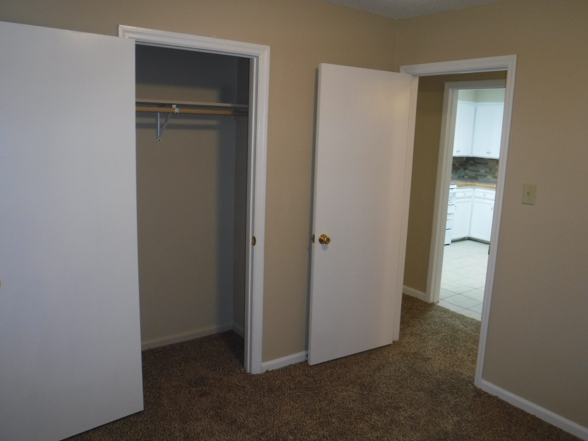 10 X 11 Bedroom 2 With Closet And Door To Hallway